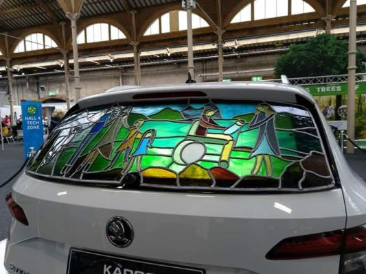 Skoda Karoq - rear window