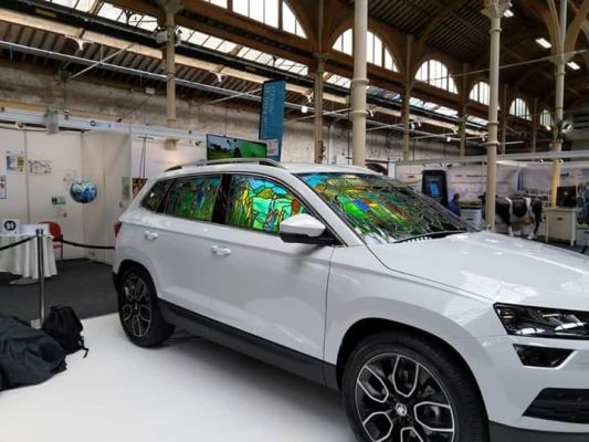 Skoda Karoq - side view