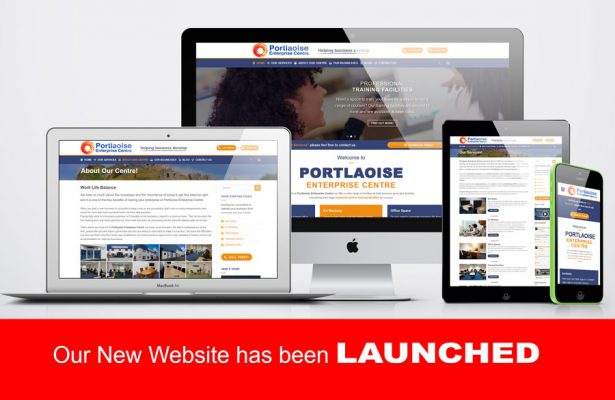 Portlaoise Enterprise Center New website