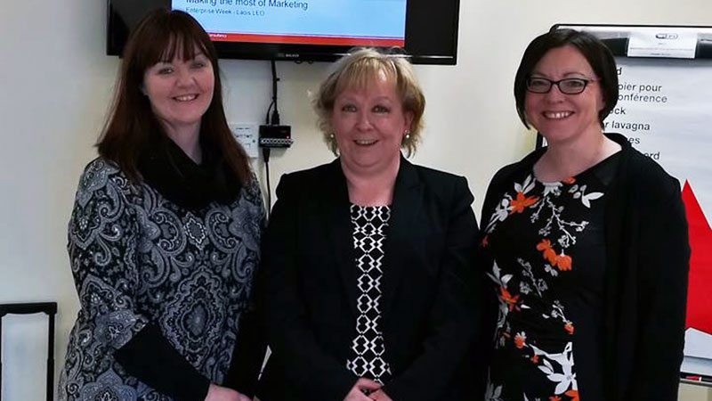 Portlaoise Enterprise Centre Coordinator and others