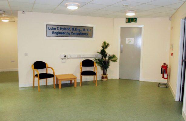 Portlaoise Enterprise Centre Foyer
