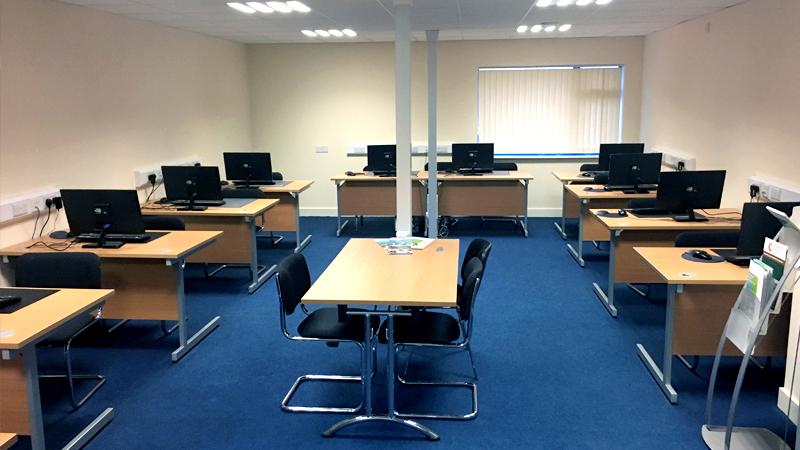 Portlaoise Enterprise Centre Training Facilitys