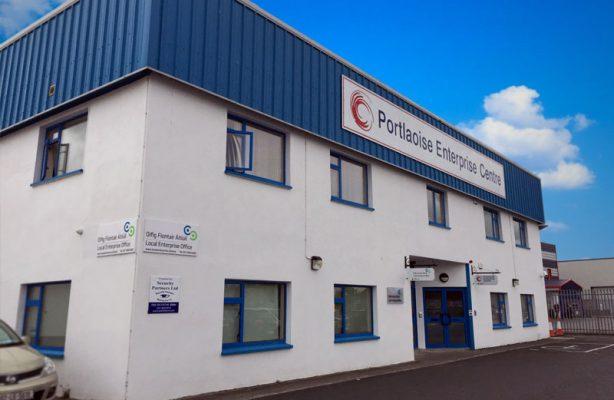 Portlaoise Enterprise Centre side view