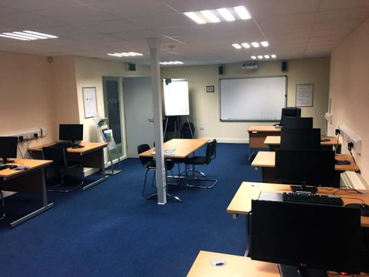 Portlaoise Enterprise Centre training facilitys training room 2