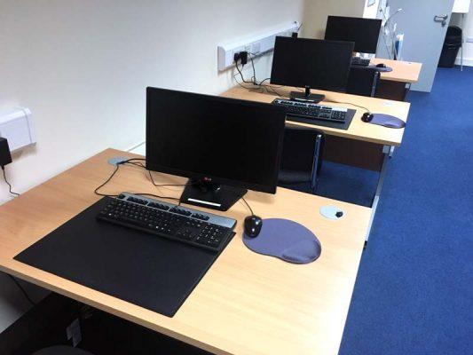 Portlaoise Enterprise Centre training facilitys training room 3
