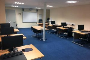 Portlaoise Enterprise Centre training facilitys training room 4
