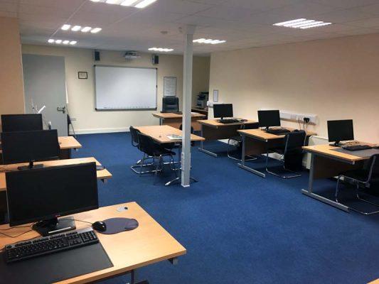 Portlaoise Enterprise Centre training facilitys training room 4